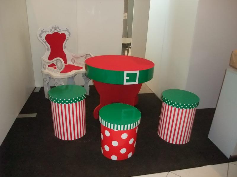 クリスマスイベント テーブルセット