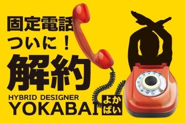 私、ついに固定電話解約しました!